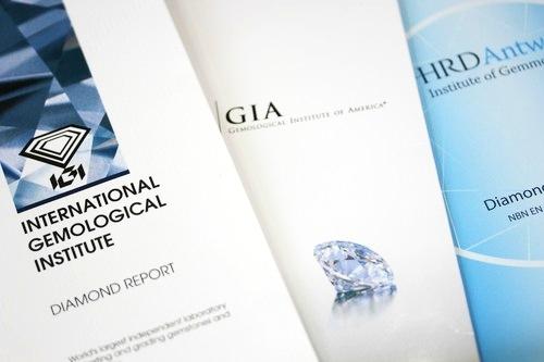 I diamanti da investimento devono essere certificati