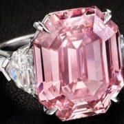 Diamante rosa Winston Pink Legacy