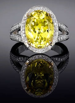 Tormalina canary 7.11 ct.