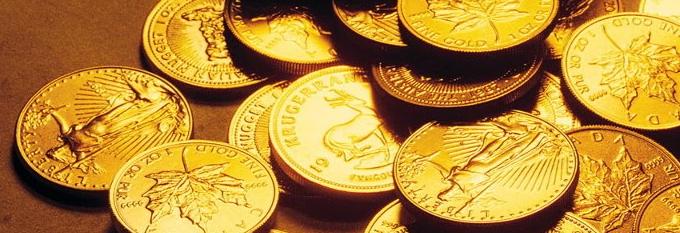 Monete come oro da investimento