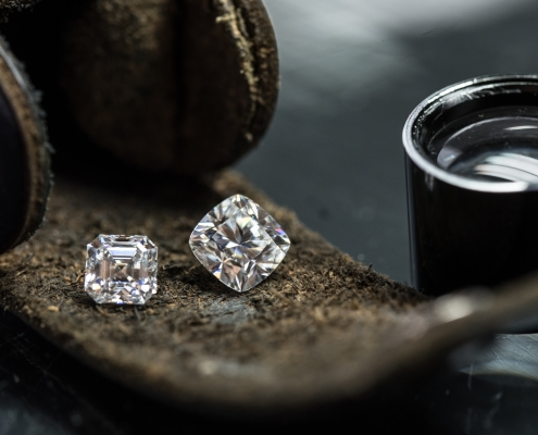 Diamanti e lentino, il cuore di un lavoro affascinante
